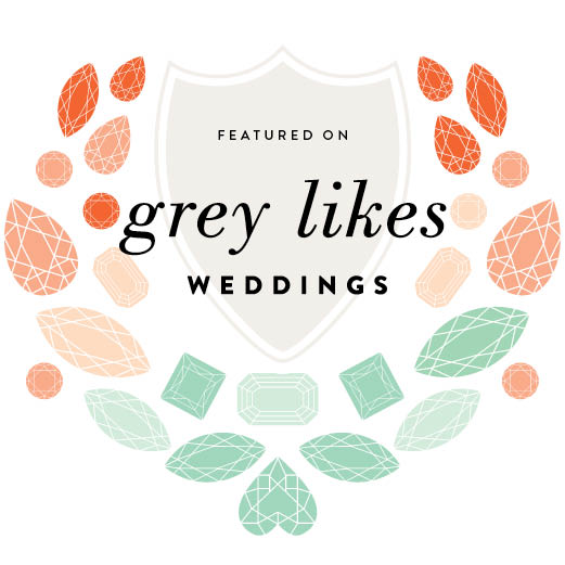 Grey Likes Wedding Badge
