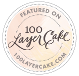 100 Layer Cake Badge