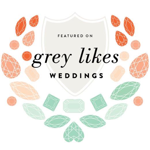 Grey Likes Wedding Badge